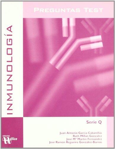 Preguntas test de inmunología (Paperback): Juan Antonio García