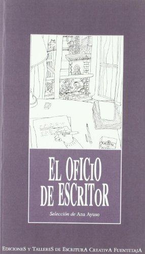 9788492123155: El oficio de escritor