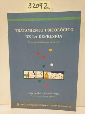 9788492129409: TRATAMIENTO PSICOLOGICO DE LA DEPRESION