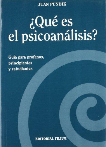 9788492147540: ¿que Es El Psicoanalisis?