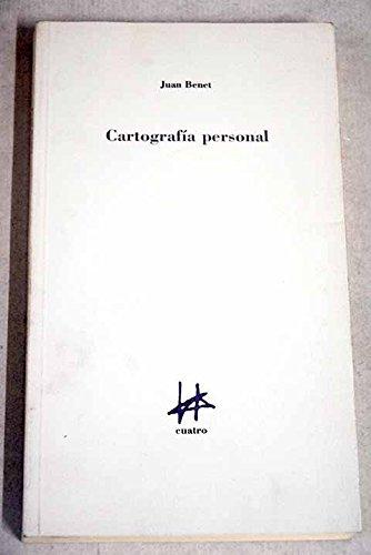 9788492164936: Cartografía personal (Spanish Edition)