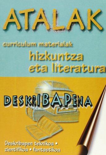 9788492175840: Atalak - Deskribapena (dbh 2.Zikloa/batx)