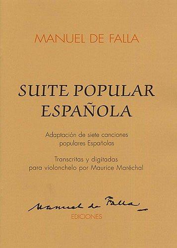 9788492176403: SUITE POPULAR ESPANO VLC/PF CELLO & PIANO