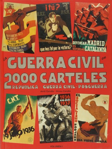 9788492196609: Guerra civil en 2000 carteles