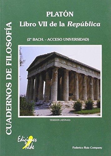 9788492200900: Platón: Libro VII de la República