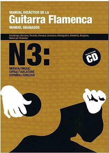 9788492230686: Manual didactico de la guitarra flamenca 3