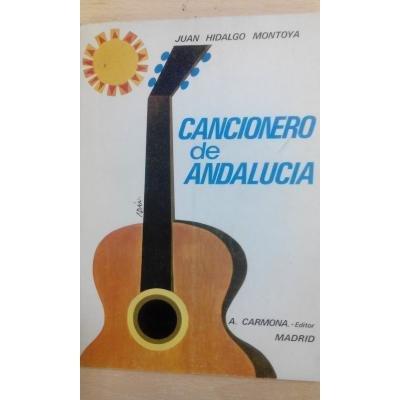 9788492250592: CANCIONERO DE ANDALUCIA