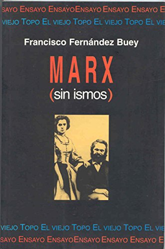 9788492257393: Marx (sin ismos)