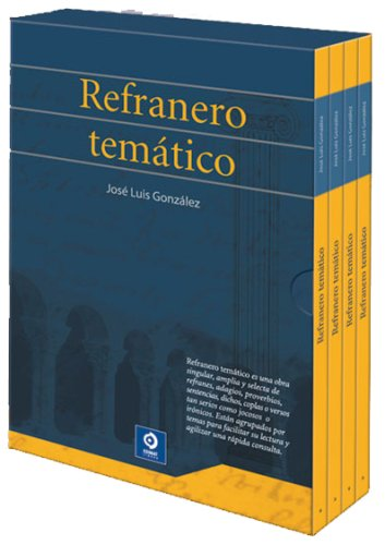 9788492320059: Refranero temático (Estuches de cultura popular) (Spanish Edition)
