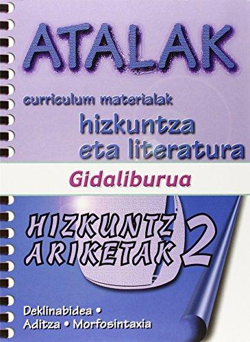 9788492374168: Atalak - Hizkuntz Ariketak 2 Gida