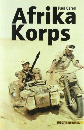 9788492400010: Afrika Korps
