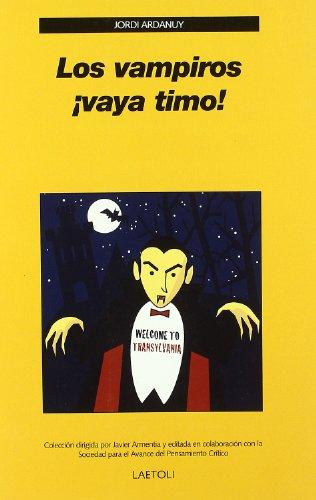 9788492422081: Vampiros ¡vaya timo!, Los