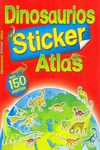 9788492447350: DINOSAURIOS ATLAS (STICKER) (+150 PEGATINAS)