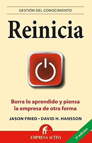 9788492452583: Reinicia (Spanish Edition) (Gestion del Conocimiento)