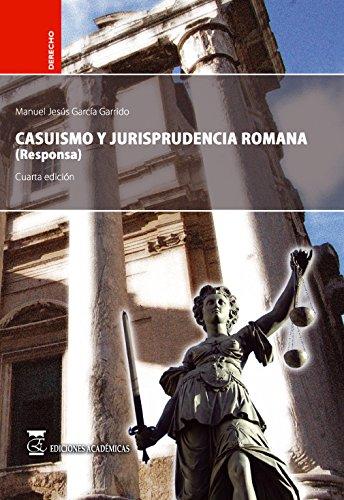 9788492477074: Casuismo y jurisprudencia romana (responsa).