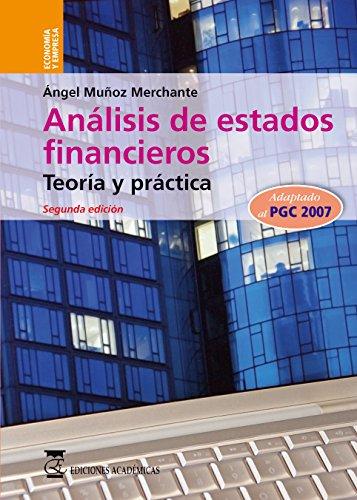 9788492477104: ANÁLISIS DE ESTADOS FINANCIEROS.Tª Y PRÁ