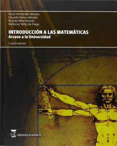 9788492477142: Introducción a las matemáticas. acceso a la Universidad.