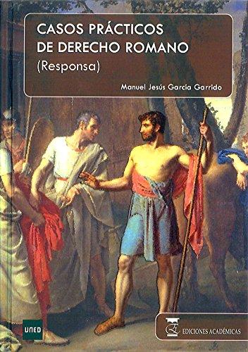9788492477395: RESPONSA CASOS PRACTICOS DERE ROMANO