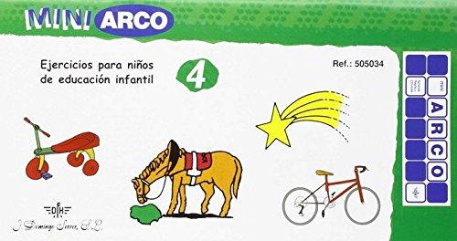 9788492490035: EJERCICIOS NIÑOS ESCOLAR 4 (MINI ARCO)