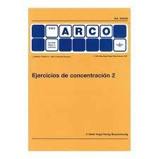 9788492490295: EJERCICIOS CONCENTRACION 2 (MINI ARCO)