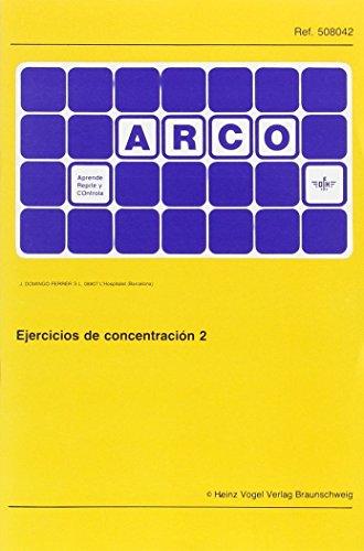 9788492490561: EJERCICIOS CONCENTRACION 2 (ARCO)