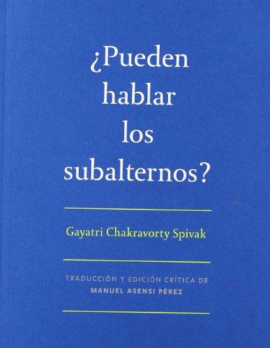 9788492505159: ¿PUEDEN HABLAR LOS SUBALTERNOS? (MUSEU D'ART CONTEMPORANI DE BARCELO)