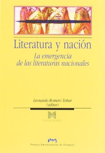 9788492521142: Literatura y nación (Spanish Edition)