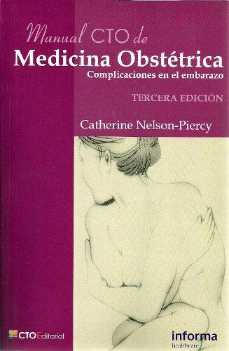 9788492523108: Manual cto de medicina obstetrica