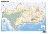 Mapa De Andalucía Físico.9788492525324 Mapa Andalucia Fisico Iberlibro Edigol