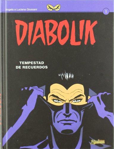 9788492534357: Diabolik. Tempestad de recuerdos