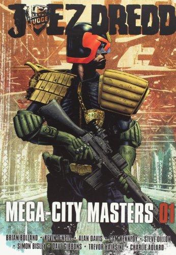 9788492534487: Juez Dredd. Mega-City Masters 01 (J.Dredd Mega City Masters)