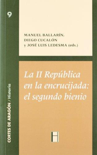 9788492565054: La II republica en la encrucijada:el segundo bienio