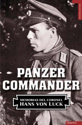 9788492567133: Panzer commander