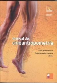 9788492568161: Manual de cineantropometría