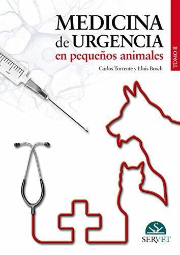 9788492569724: Medicina de urgencia en pequeños animales. Tomo II