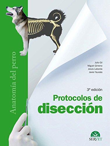 9788492569731: Protocolos de disección. Anatomía del perro ...