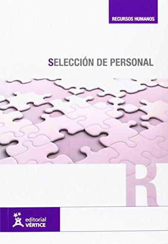 9788492598656: Selección de personal (Recursos humanos)