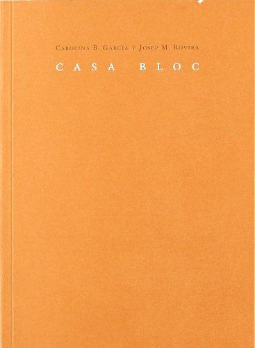 9788492607464: Casa bloc (Mudito & Co.)
