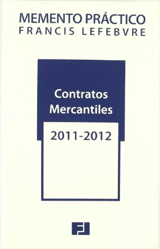 9788492612970: MEMENTO CONTRATOS MERCANTILES