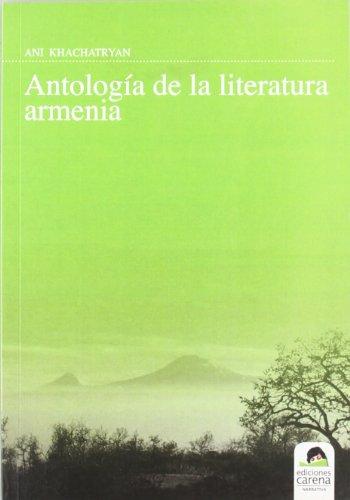 9788492619894: Antología De La Literatura Armenia (Narrativa)