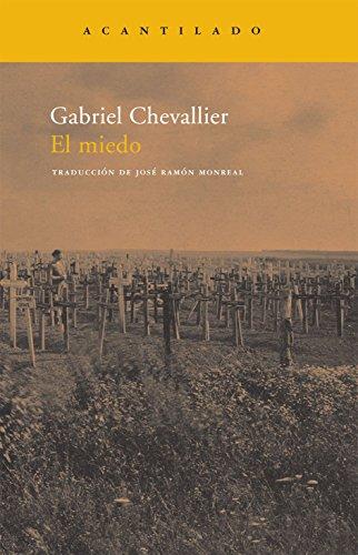 El miedo (Narrativa del Acantilado) (Spanish Edition) (9788492649020) by Chevallier, Gabriel