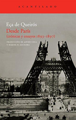 9788492649730: Desde Paris Cronicas Y Ensayos 1893-1897