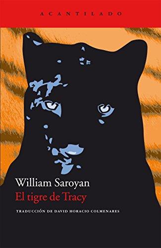 9788492649846: El tigre de Tracy (Cuadernos del Acantilado)
