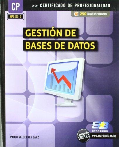 9788492650798: Gestión de bases de datos (MF0225_3)