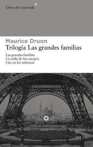 9788492663354: Pack Trilogía Las Grandes Familias (Libros del Asteroide)