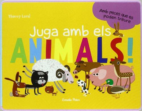 9788492671014: Juga amb els animals: Amb peces que es poden treure (LA LLUNA DE PAPER)