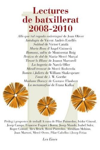9788492672028: Lectures de batxillerat 2008-2010