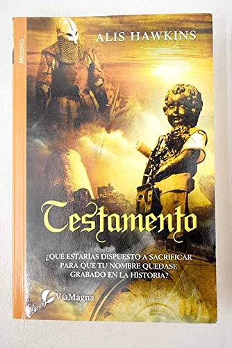9788492688739: Testamento
