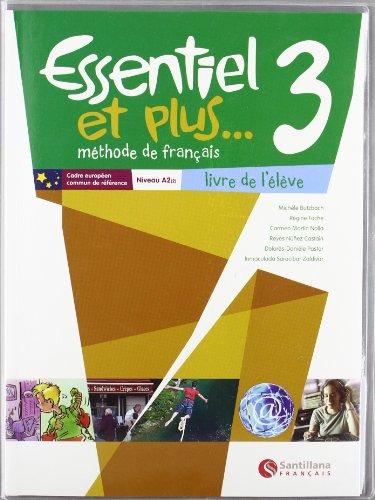 Essential Et Plus 3 Eleve - 9788492729265: Carmen Martin Nolla;