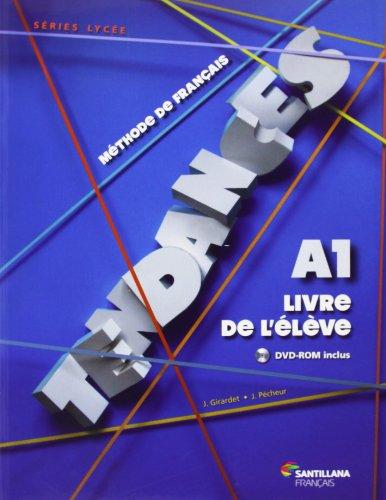 9788492729708: TENDANCES A1 - ELEVE + DVDR